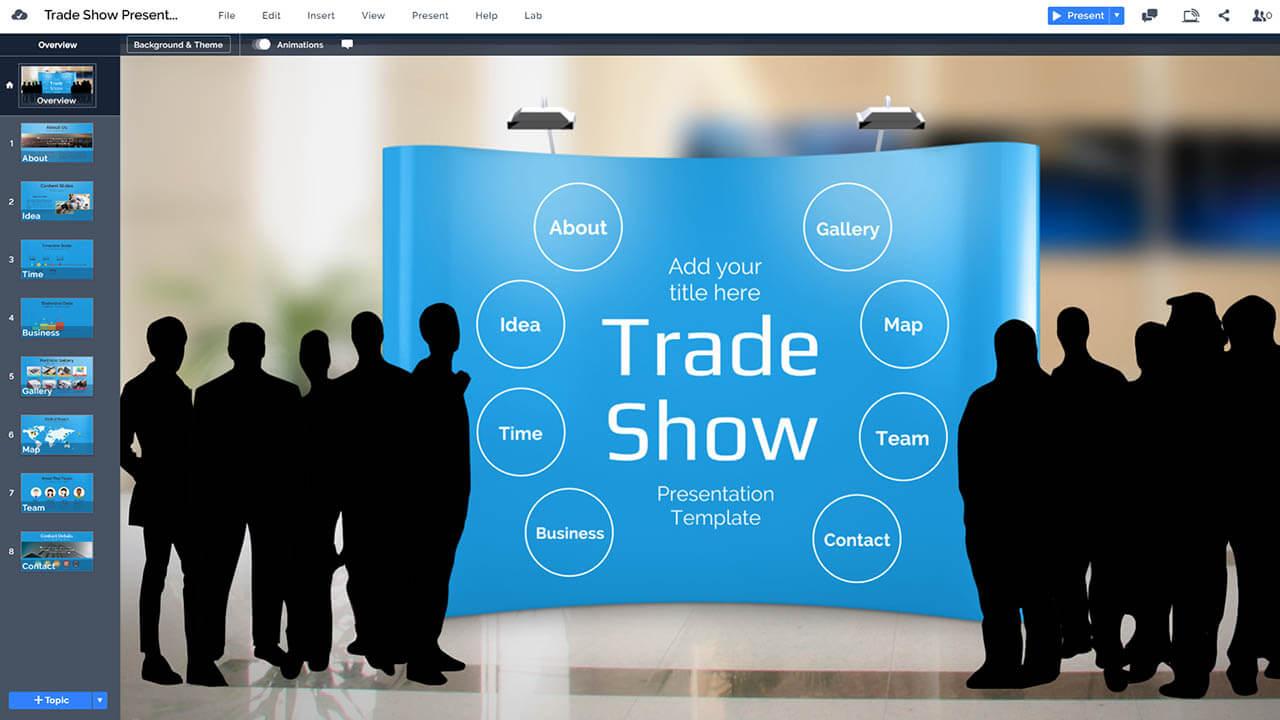 Exhibition Trade Show Prezi Template Prezibase