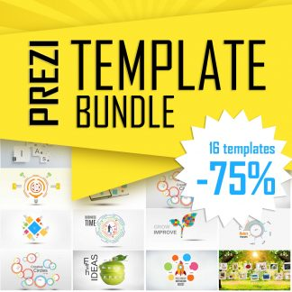 Prezi zoom template Bundle collection of Prezi templates