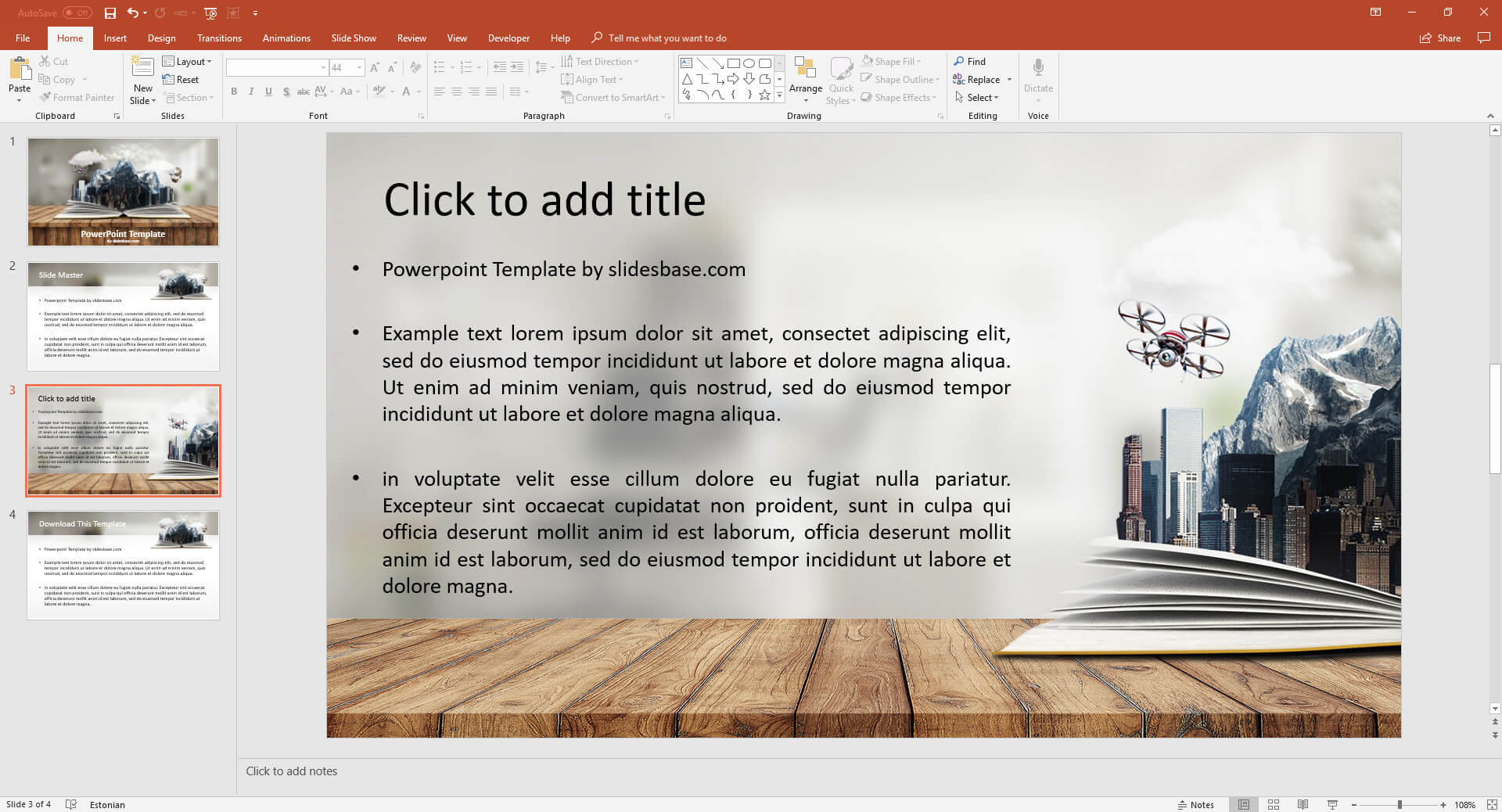 adventure book presentation prezi template prezibase