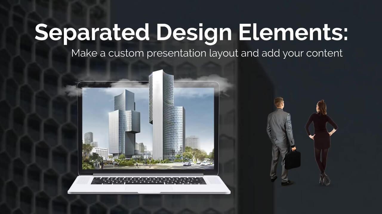 Business Landscape Presentation Template Prezibase