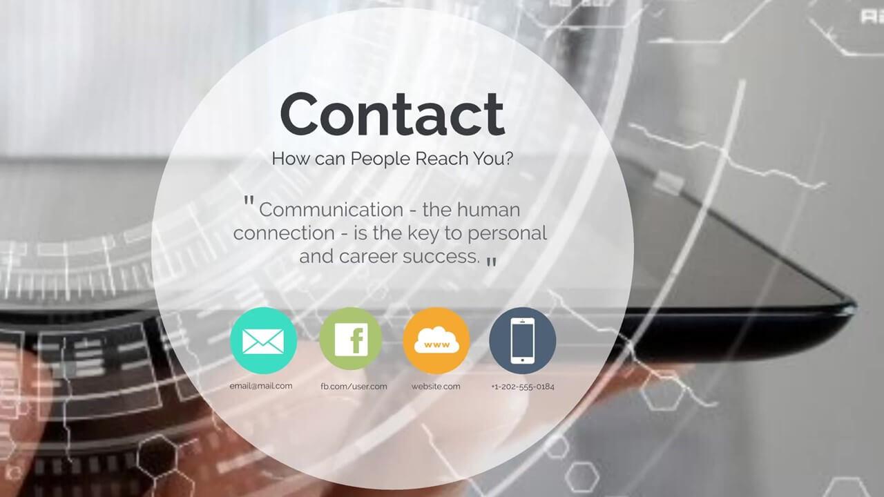 future technology presentation template