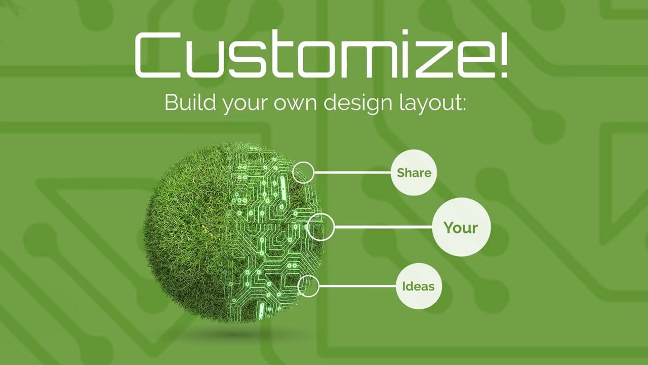 Green Technology Presentation Template | Prezibase