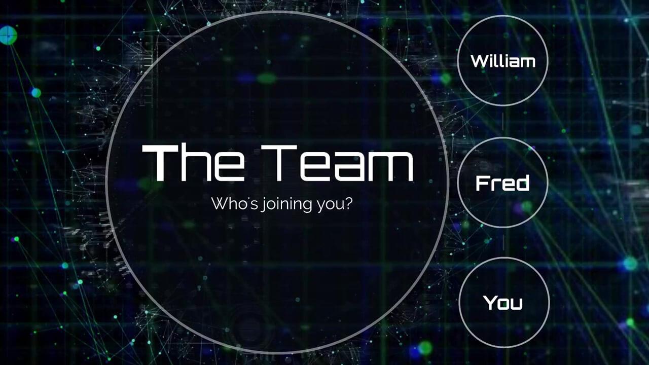 Technology Network Presentation Template | Prezibase