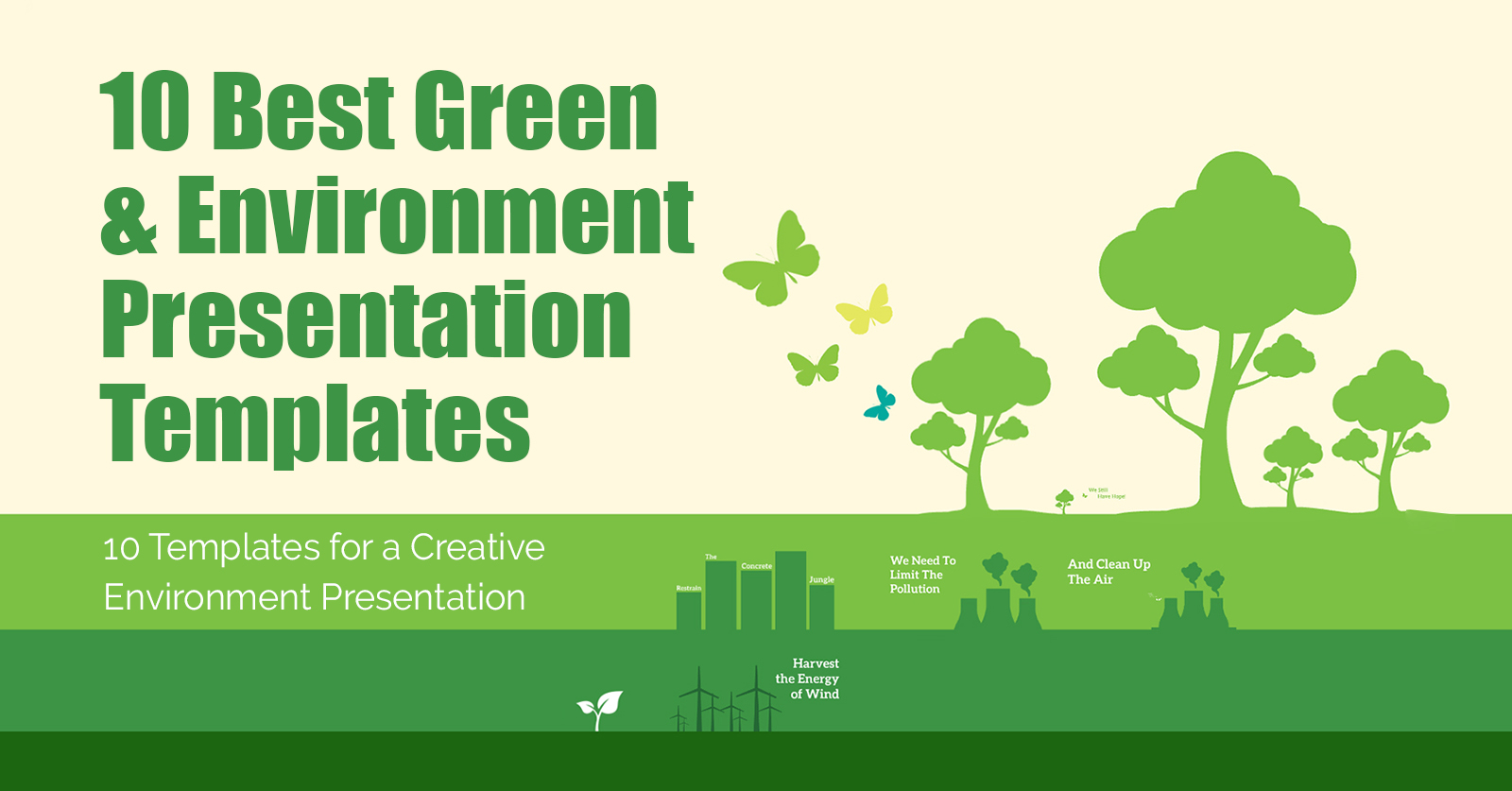 best-green-environment-presentation-template