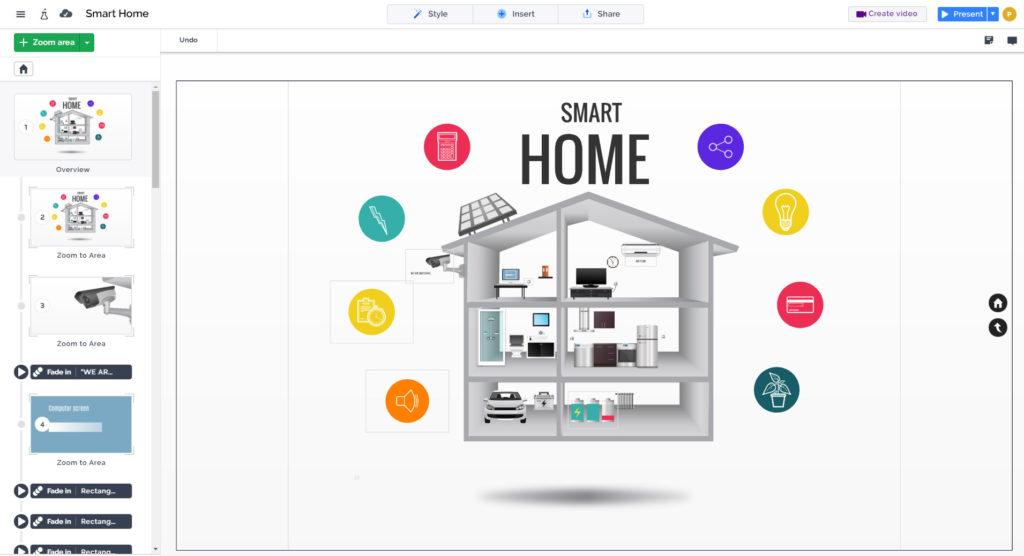 smart house presentation template